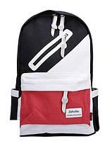 Школьный Молодежный Стильный Рюкзак  В наличии!!Цвет Чёрный+красный,Оригинал,Фабричный