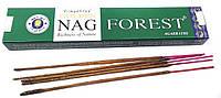 """Ароматические палочки Golden nag Forest """"Лес"""", Vijayshree, 15 gm"""