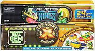"Большой набор Сундук сокровищ ""Пришельцы против королей"" Treasure X Aliens V Kings Treasure Chest"