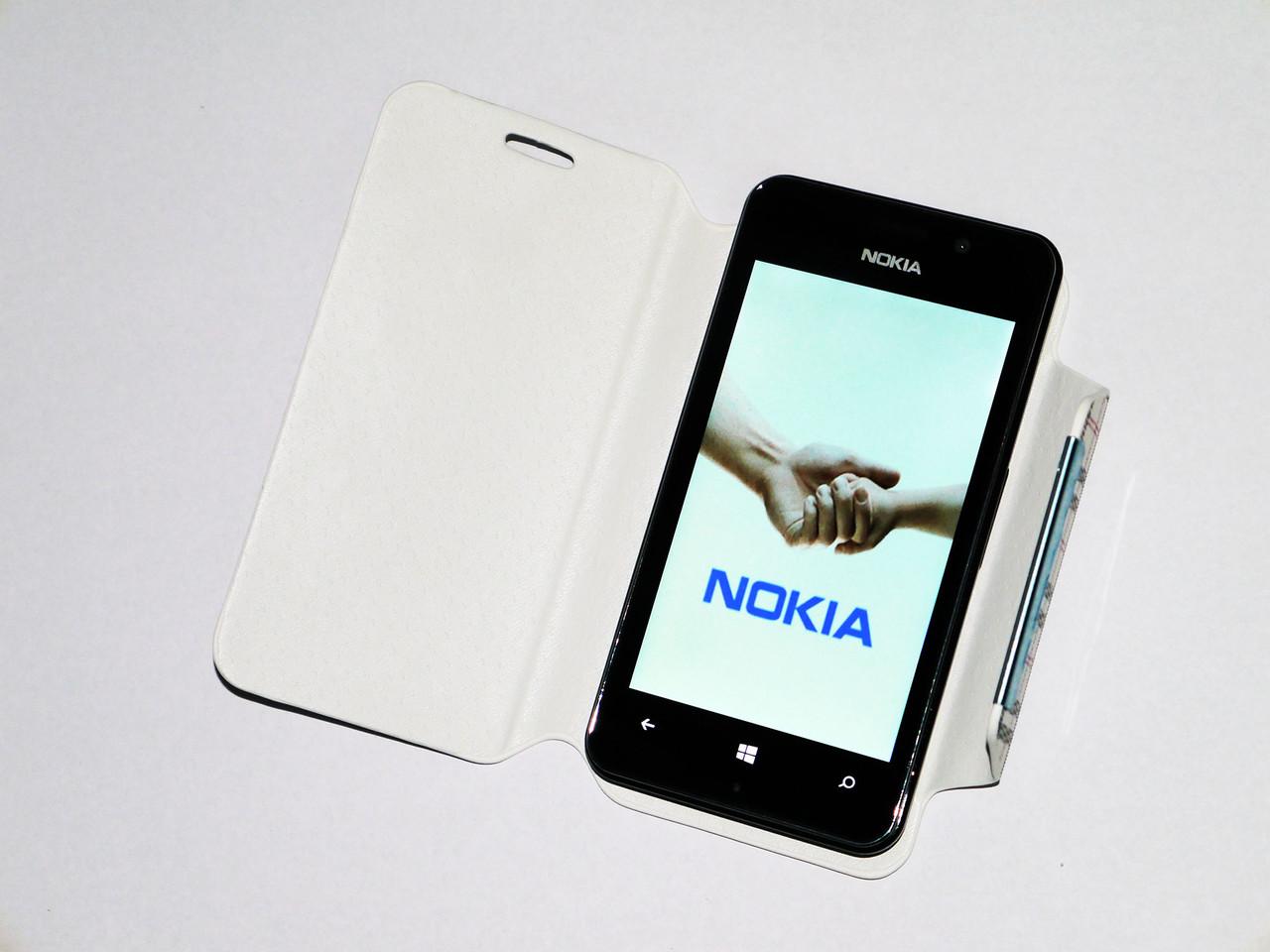 Телефон Nokia A620 Черный - 2Sim+ 4''+ Android + ЧЕХОЛ