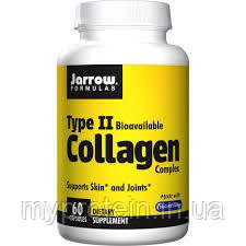 Jarrow Formulas	Коллаген	Collagen Complex Type 2 Bioavailable	60 caps