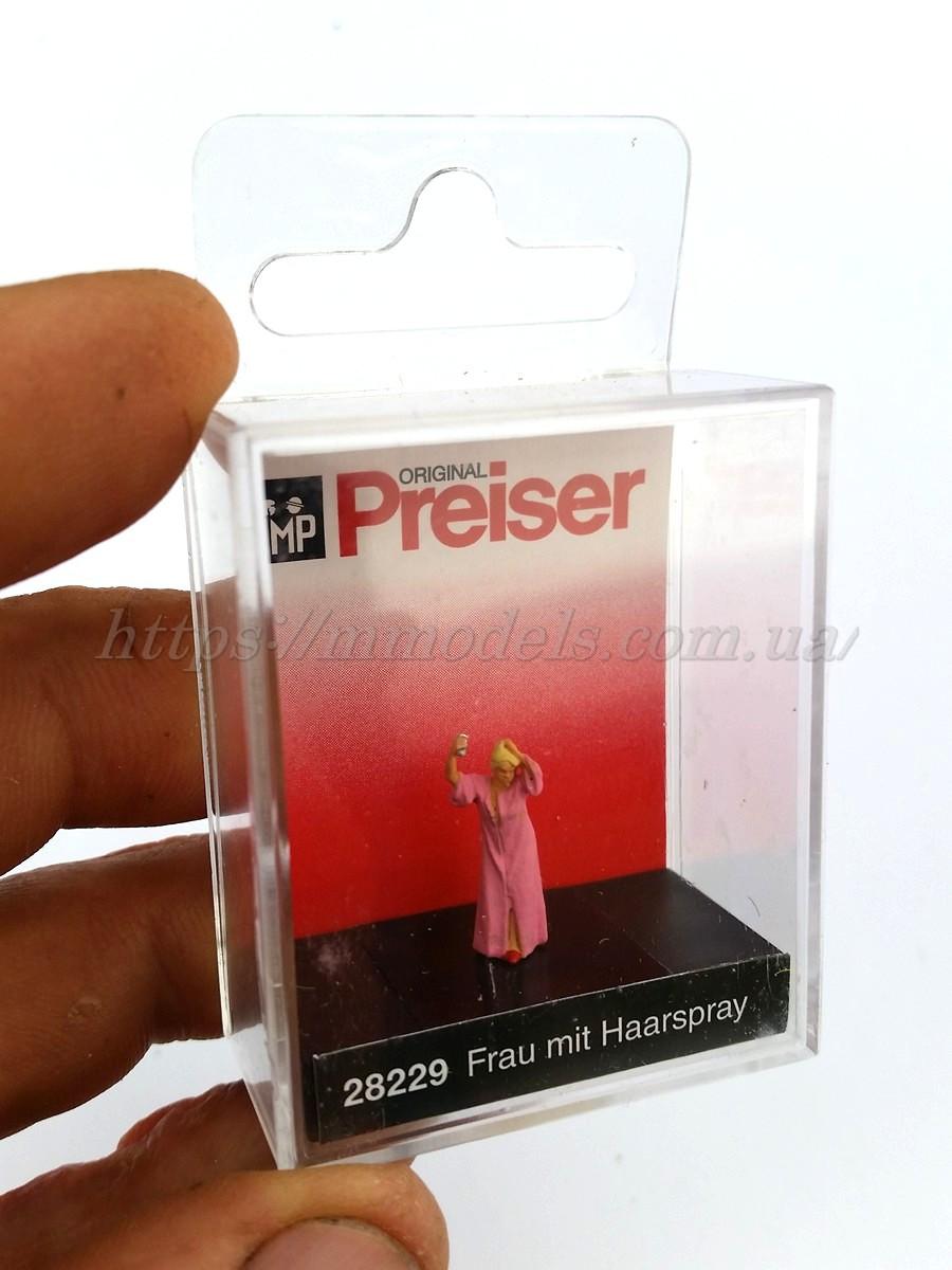 Preiser 28229 Набор Женщина с лаком для волос1:87