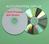 Диск CD-R Printable (для печати) 700 Mb 52x 80min