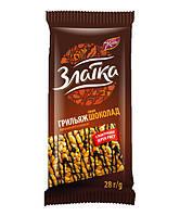 Грильяжик рисовый декоративный шоколадной глазурью, 28 г - Жайвир