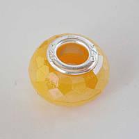 Бусина Pandora (Пандора) в желтом цвете P4261072, фото 1