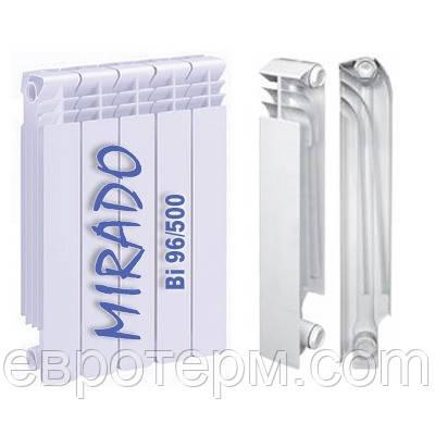 Радиатор биметаллический 500*96 Mirado - Магазин сантехники Eurotherm в Харькове