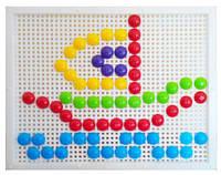 Мозаика с круглыми фишками (120 элементов)  sco