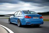 Бампер задний BMW F30 стиль М3