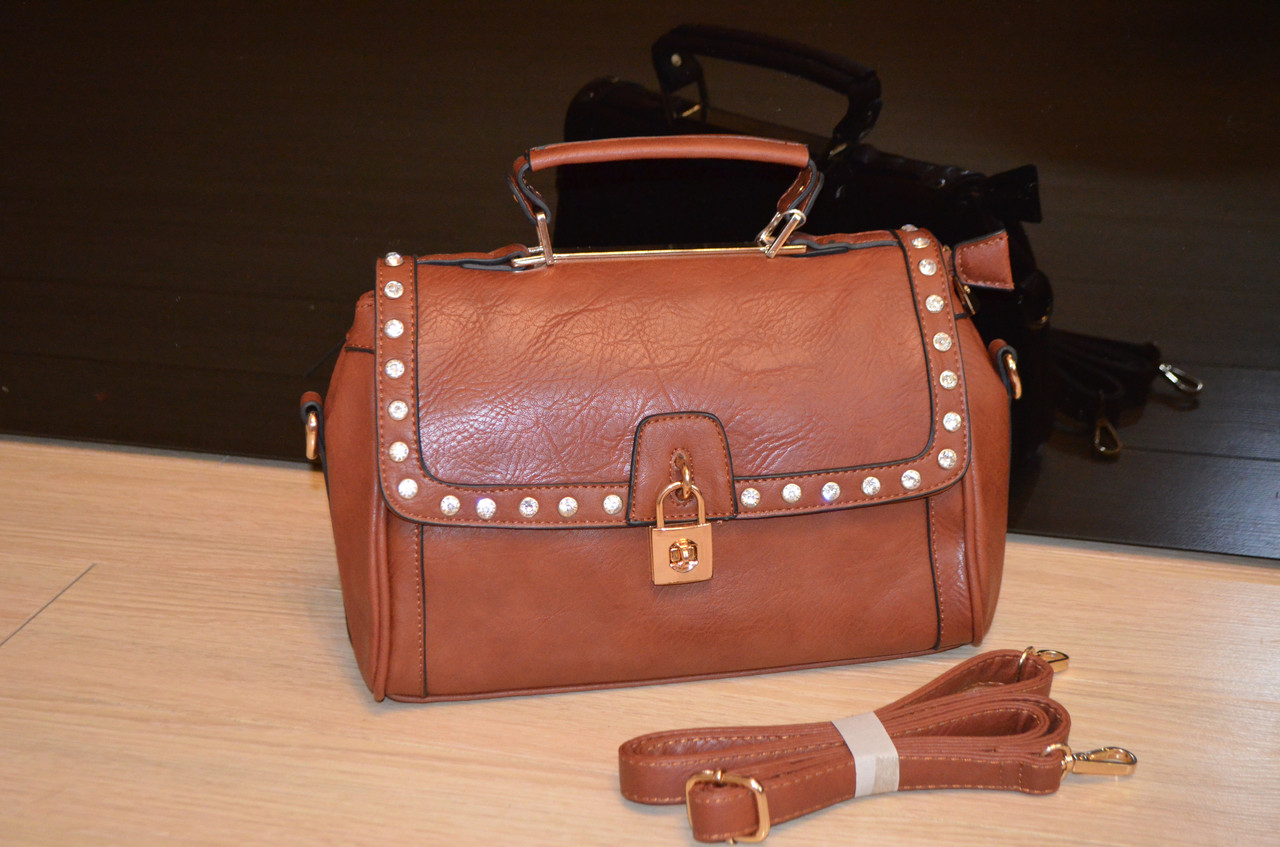 Женская сумка К 751 коричневая