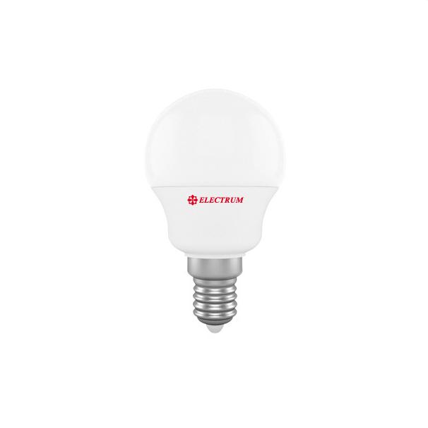 Лампа светодиодная D45 6W Е14 4000К ELECTRUM