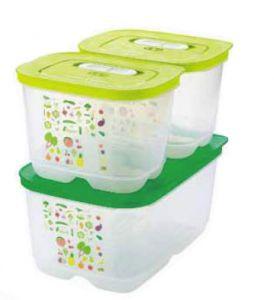 Умный холодильник Tupperware-набор из 3х контейнеров! 2 шт. 1,8 л. высоких+ 1 шт.4,4 л. Супер набор!