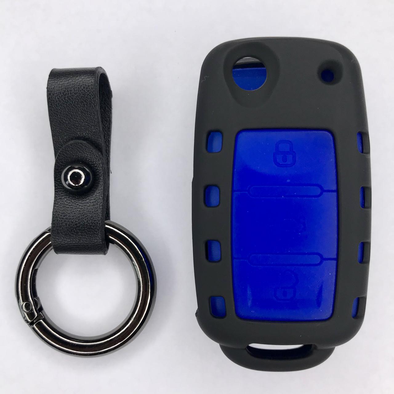 Матовый чехол для ключа Volkswagen Passat,Golf,Tiguan,Touareg,Polo, Jetta,Amarok,Beetle,Bora,Сaddy,Passat