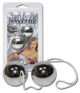 Вагинальные шарики BASIC silber