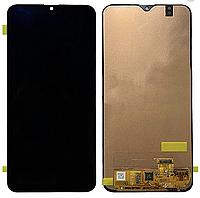 Дисплей (экран) для Samsung A205F Galaxy A20 2019 + тачскрин, черный