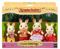 Игровой набор Sylvanian Families Семья Шоколадных кроликов Chocolate Rabbit Family Set 4150