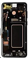 Дисплей (экран) для Samsung A205F Galaxy A20 2019 + тачскрин, черный, с передней панелью, оригинал