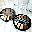 Палетка для макияжа бровей Brows Parmis 8 цветов (2 палитры оттенков), фото 2