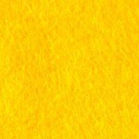 Фетр желтый, 50*45 см, 1 мм, мягкий