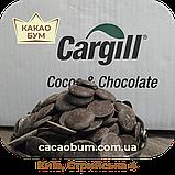 Шоколад чорний 72% Cargill 1 кг Бельгійський в каллетах, фото 2