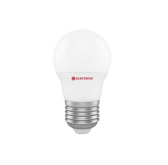 Лампа светодиодная D45 6W Е27 2700К ELECTRUM