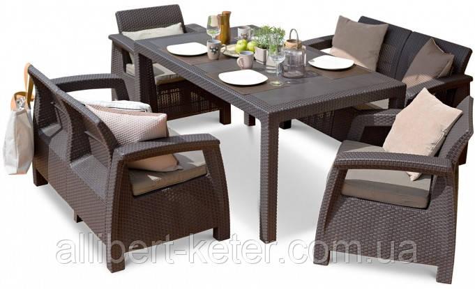 Комплект садовой мебели Corfu Fiesta