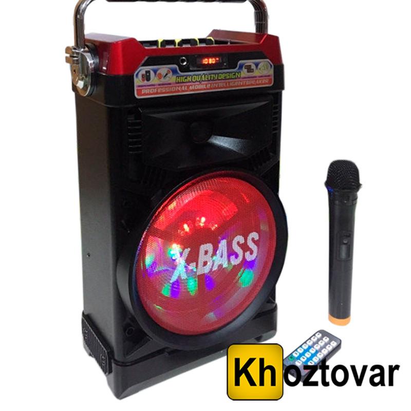 Портативна Bluetooth колонка NS-1388BT NNS з радіомікрофоном