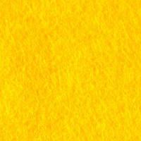 Фетр желтый, 50*45 см, 1 мм, жесткий