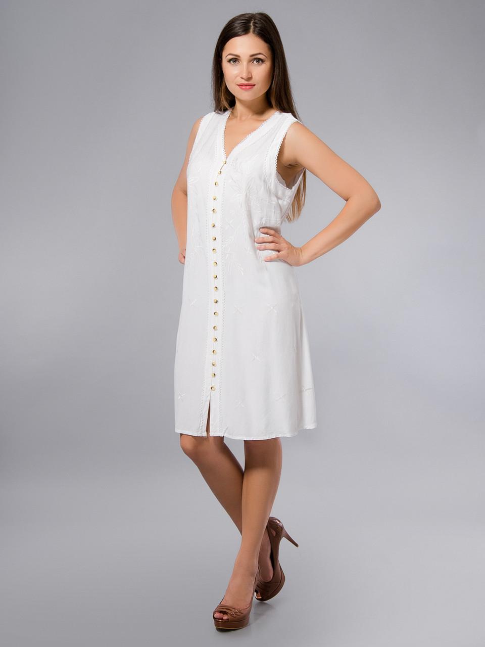 6f452cd43525a35 Платье -халат, белое, хлопок, Индия, на 44-52 размеры, цена 340 грн ...