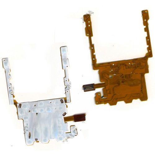 Шлейф Sony Ericsson S302 / W302 с клавиатурным модулем, кнопкой камеры, регулировки громкости и включения