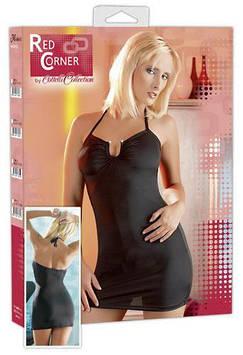 Мини-платье RED CORNER ELEGANT (чёрное)