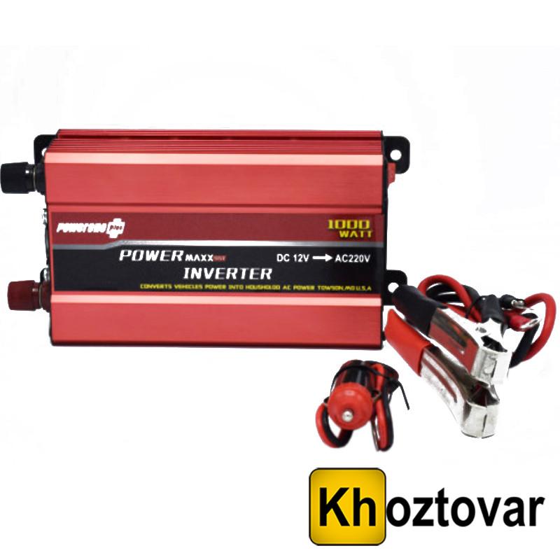 Преобразователь 12В в 220В Power One 1000W