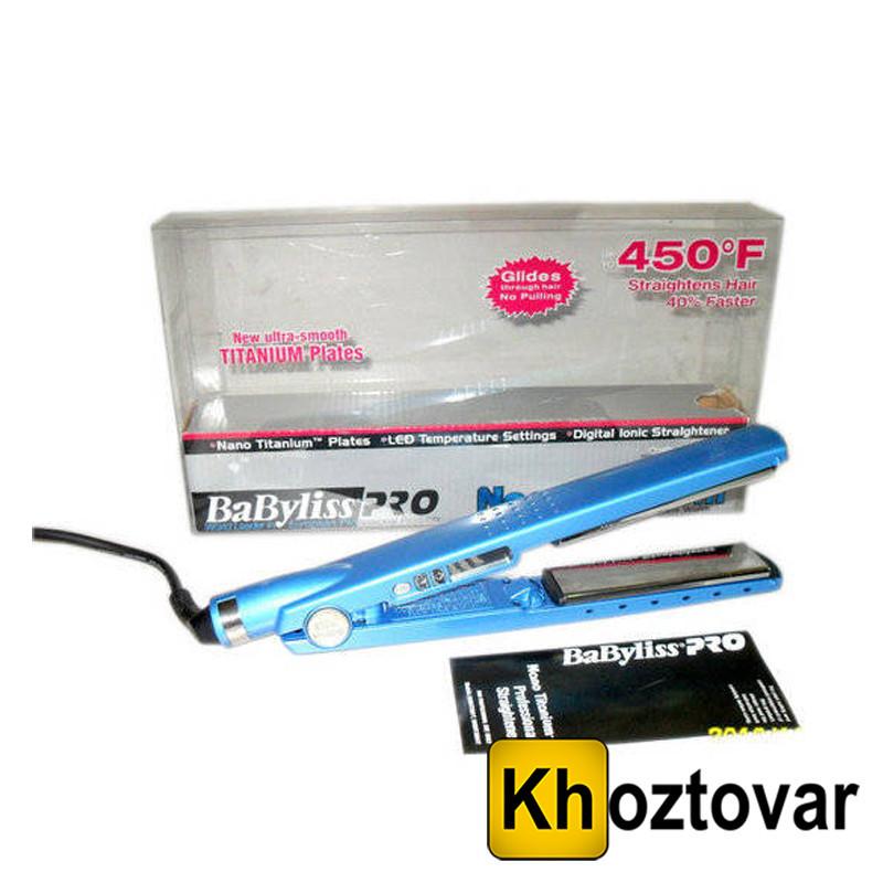 Профессиональный утюжок для волос Nano Titanium 450F