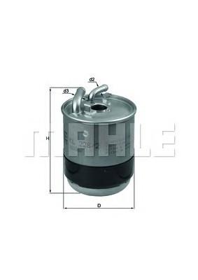 Фильтр топливный Mahle MB Sprinter 906