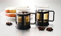 Набор стеклянных кружек для кофе Gipfel Glacier - Sevilla 200 мл 7441