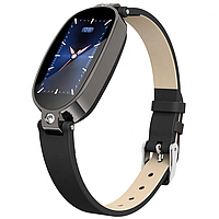 Розумні годинник фітнес браслет Finow B79 з тонометром і ЕКГ (Чорний)