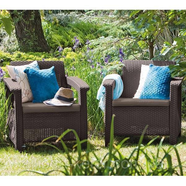Комплект садових меблів Corfu Duo