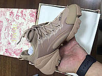 Женские кроссовки Dior D-Connect Sneakers Beige