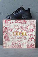 Женские кроссовки Dior D-Connect Sneakers Black
