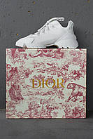 Женские кроссовки Dior D-Connect Sneakers White