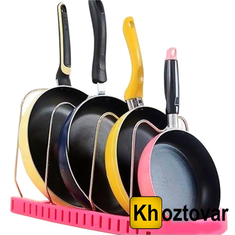 Стійка для сковорідок Смаження pan rack color