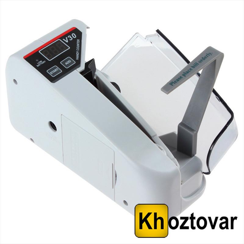 Рахункова машинка для грошей з детектором Handy Counter TT-V30   Детектор валют