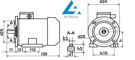 Электродвигатель АИР315S2