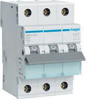 Автоматические выключатели Hager 3P B50