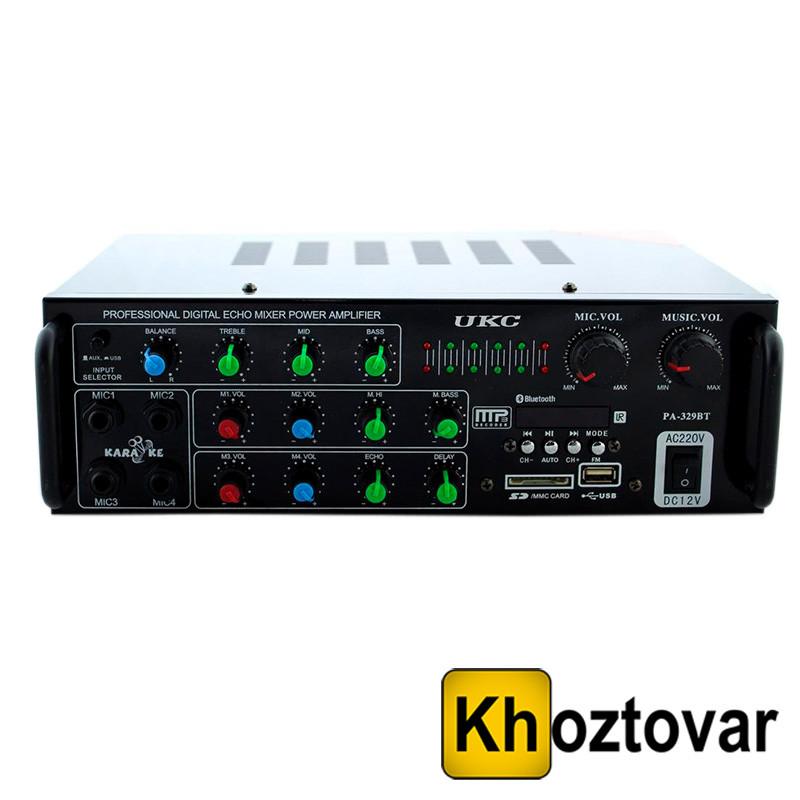 Усилитель звука AMP 329 BT UKC