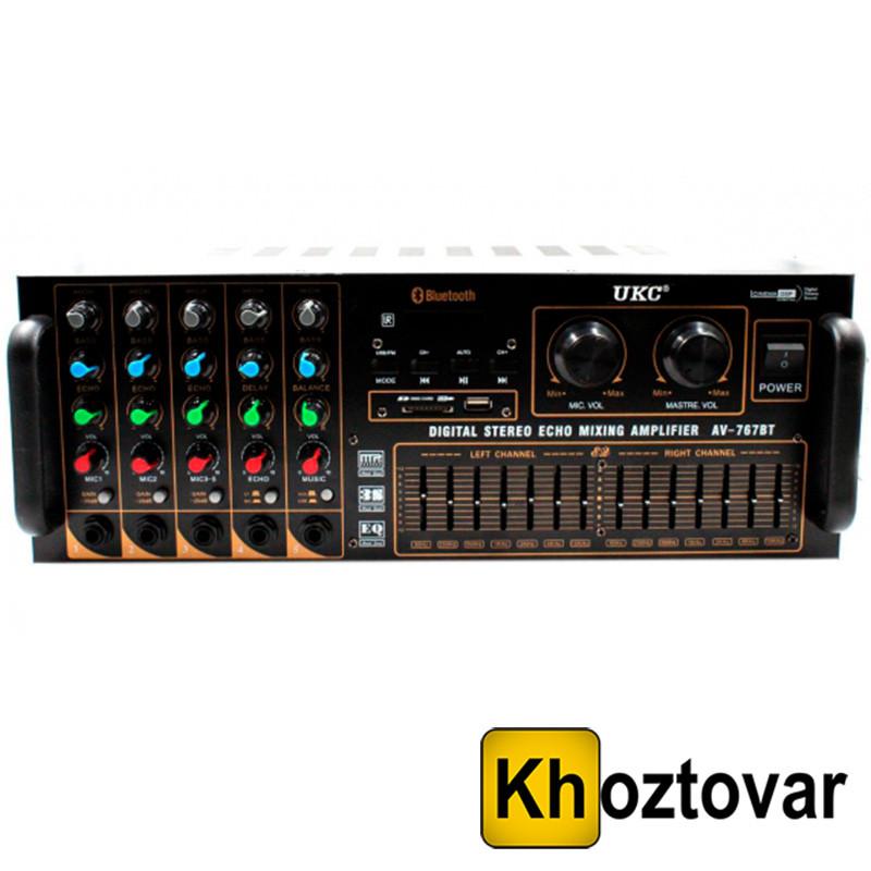 Усилитель звука AMP 767 BT UKC