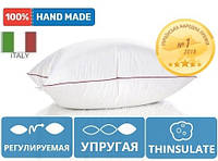 Подушка антиалергенна висока De Luxe Thinsulate Hand Made 914 Mirson 60х60 см
