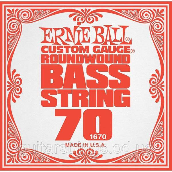 Струна Ernie Ball 1670 Slinky Bass 0.70 (бас)