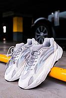 Мужские женские кроссовки Adidas Yeezy Boost 700 V2 Static Reflective