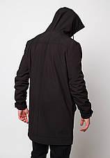 Мужская куртка (весна\осень) - Плащ Raider 2.0 черный, фото 2