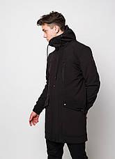 Мужская куртка (весна\осень) - Плащ Raider 2.0 черный, фото 3